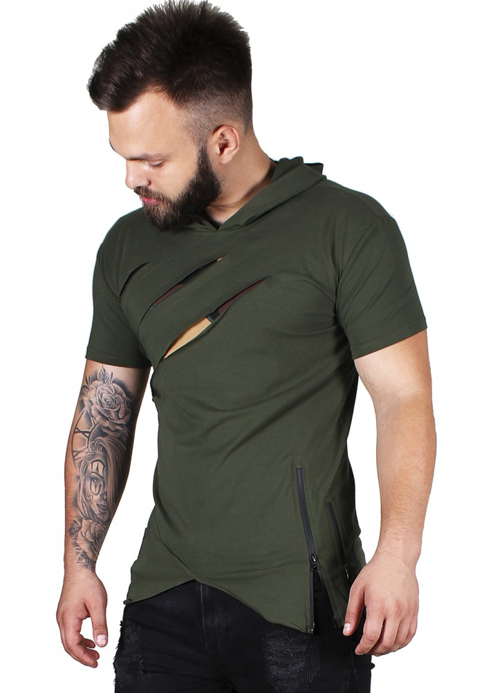 CAMO HOLEY  ZIPPER