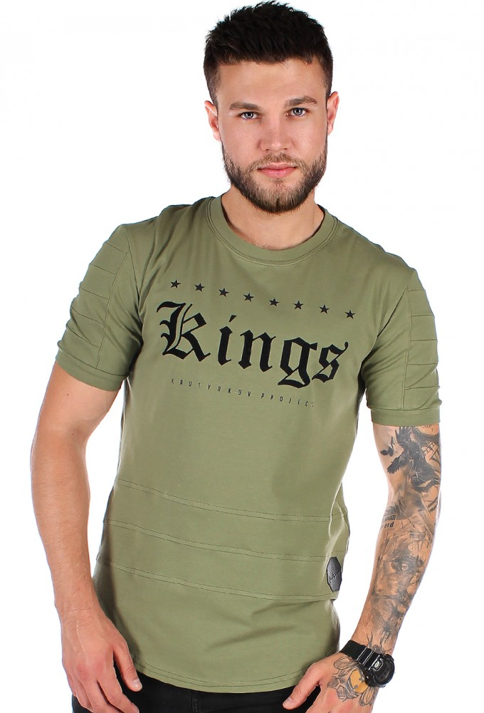 футболка мужская <br> KINGS QUILTED